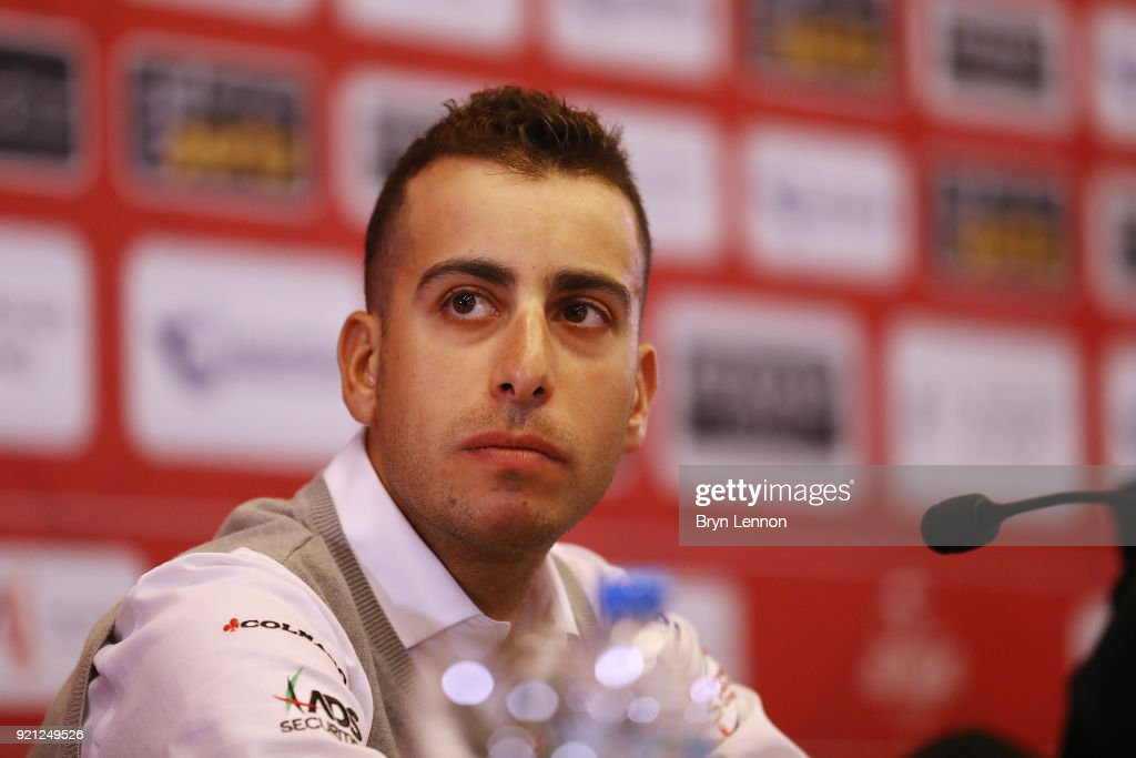4th Abu Dhabi Tour 2018 / Top Riders Press Conference Fabio Aru of Italy / Yas Marina F1 Circuit / PC / Ride to Abu Dhabi /