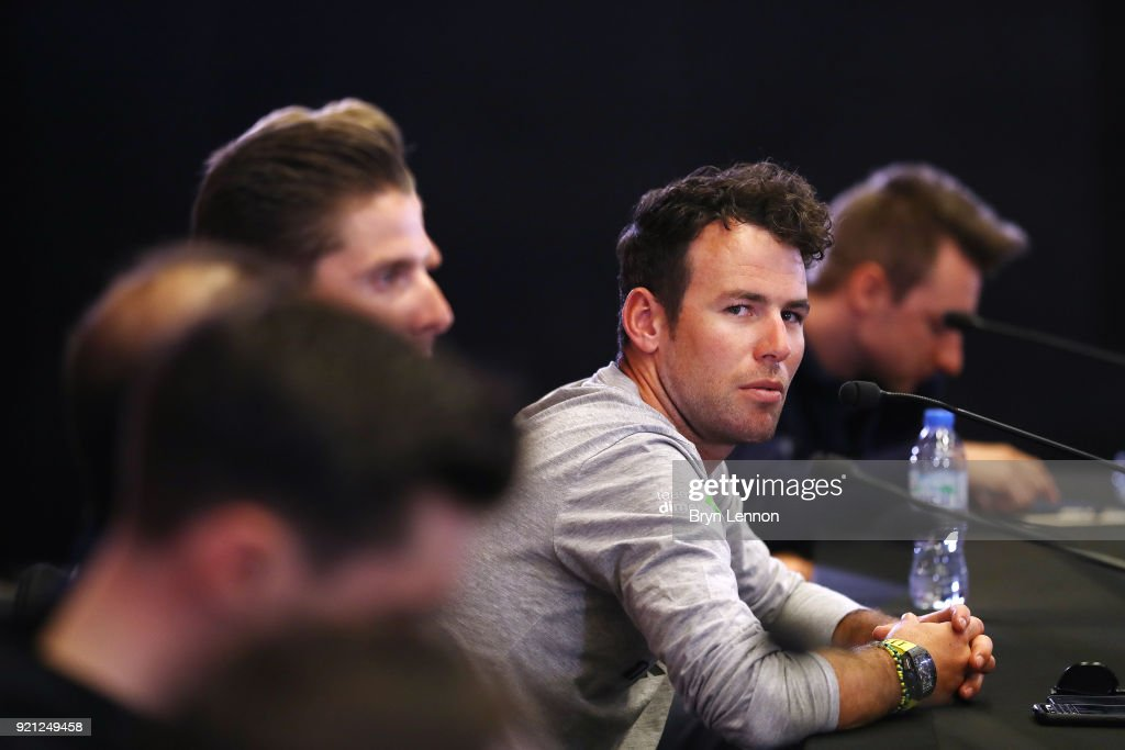 4th Abu Dhabi Tour 2018 / Top Riders Press Conference Mark Cavendish of Great Britain / Yas Marina F1 Circuit / PC / Ride to Abu Dhabi /