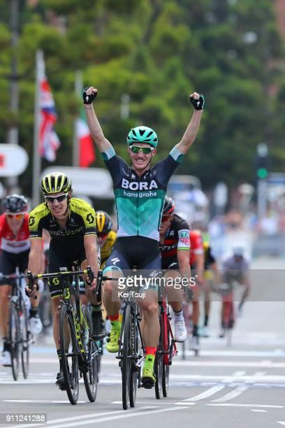 4th Cadel Evans Great Ocean Road Race 2018 / Men Arrival / Sprint / Jay MCCARTHY Celebration / Daryl IMPEY / Geelong Waterfront Geelong Waterfront /...