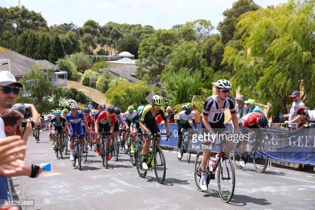 4th Cadel Evans Great Ocean Road Race 2018 / Men Chad HAGA / Jack BAUER /Peloton / Challambra Crescent / Geelong Waterfront Geelong Waterfront /...