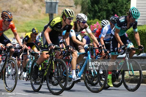 4th Cadel Evans Great Ocean Road Race 2018 / Men Daryl IMPEY / Matteo MONTAGUTI / Daniel OSS / Geelong Waterfront Geelong Waterfront / Great Ocean...
