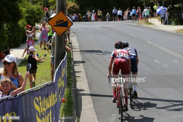 4th Cadel Evans Great Ocean Road Race 2018 / Men Pavel KOCHETKOV / Lasse Norman HANSEN / Geelong Waterfront Geelong Waterfront / Great Ocean Road...