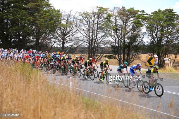 4th Cadel Evans Great Ocean Road Race 2018 / Men Peloton / Geelong Waterfront Geelong Waterfront / Great Ocean Road Race /