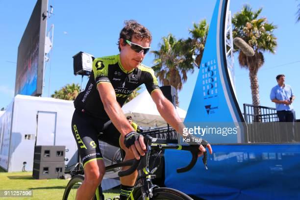 4th Cadel Evans Great Ocean Road Race 2018 / Men Start / Daryl IMPEY / Geelong Waterfront Geelong Waterfront / Great Ocean Road Race /
