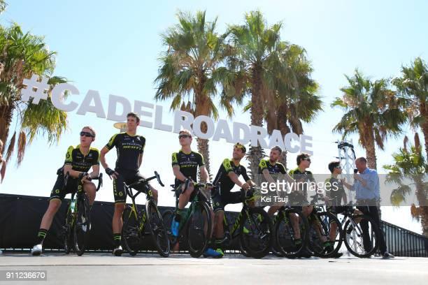 4th Cadel Evans Great Ocean Road Race 2018 / Men Start / Podium / Daryl IMPEY / Jhoan Esteban CHAVES / Mathew HAYMAN / Michael HEPBURN / Damien...