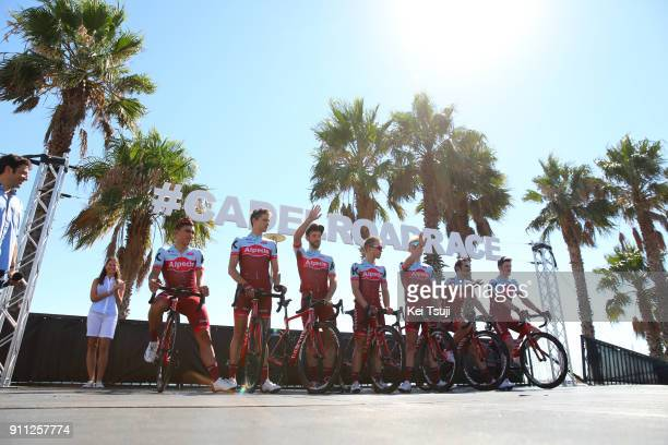 4th Cadel Evans Great Ocean Road Race 2018 / Men Start / Podium / Team Katusha Alpecin / Nathan HAAS / Jose GONCALVES / Pavel KOCHETKOV / Maurits...