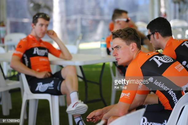 4th Cadel Evans Great Ocean Road Race 2018 / Men Start / Tim ARIESEN / Geelong Waterfront Geelong Waterfront / Great Ocean Road Race /