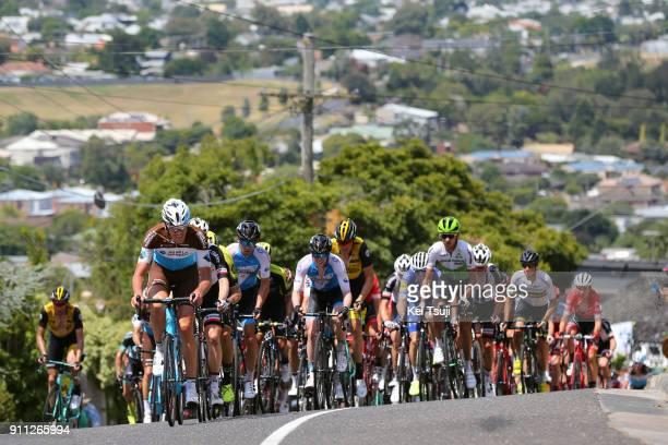 4th Cadel Evans Great Ocean Road Race 2018 / Men Stijn VANDENBERGH / Peloton / Challambra Crescent / Geelong Waterfront Geelong Waterfront / Great...