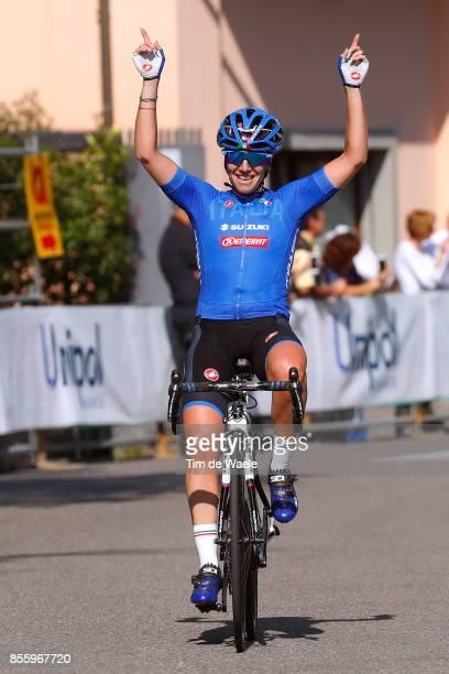4th Giro dell'Emilia 2017 / Women Arrival / Tatiana GUDERZO Celebration / Bologna BolognaSan Luca 268m / Women / GDE /