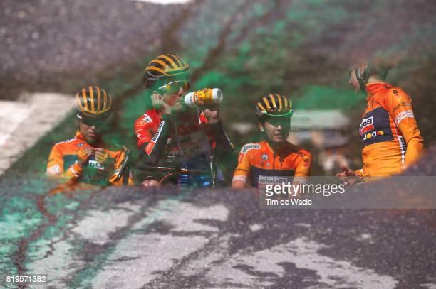 4th La Course 2017 - by Le Tour de France / Stage 1 Megan GUARNIER / Chantal BLAAK / Nikki BRAMMEIER / Karol-Ann CANUEL / Christine MAJERUS / Team...