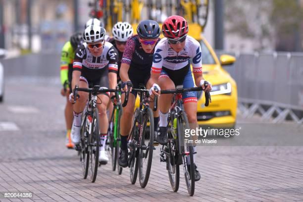 4th La Course 2017 by Le Tour de France / Stage 2 Cecilie Uttrup LUDWIG / Pauline FERRAND PREVOT / Marseille Marseille / Women / ITT / Individual...