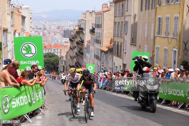 4th La Course 2017 by Le Tour de France / Stage 2 Elisa LONGO BORGHINI / Lizzie Elizabeth ARMITSTEADDEIGNAN / Fans / Public / Marseille Marseille /...
