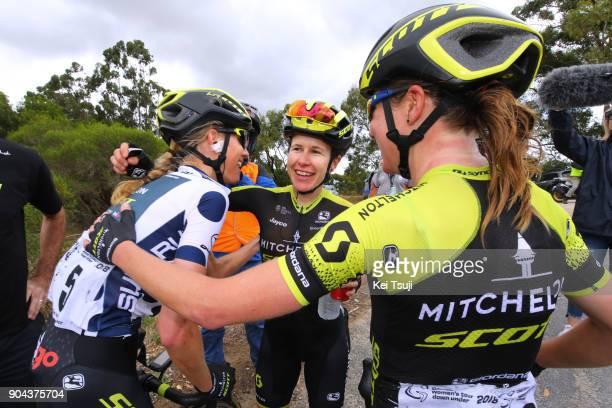 4th Santos Women's Tour 2018 / Stage 3 Arrival / Amanda SPRATT / Annemiek VAN VLEUTEN / Lucy KENNEDY Polka Dot Mountain Jersey / Celebration / The...