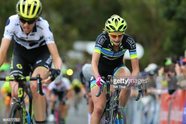 4th Santos Women's Tour 2018 / Stage 3 Arrival / Lucy KENNEDY Polka Dot Mountain Jersey / Emma GRANT / The Bend Motorsport Park Hahndorf / Women /...