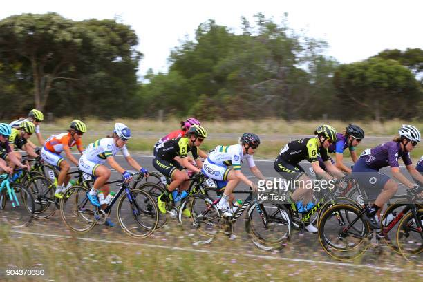 4th Santos Women's Tour 2018 / Stage 3 Katrin GARFOOT Orange Leader Jersey / Sarah ROY / Ti any CROMWELL / Peloton / The Bend Motorsport Park...
