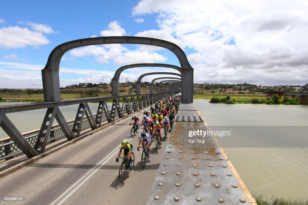 4th Santos Women's Tour 2018 / Stage 3 Peloton / Landscape / Murray Bridge / Amanda SPRATT (AUS)/ The Bend Motorsport Park - Hahndorf (122,4km) / Women / TDU /