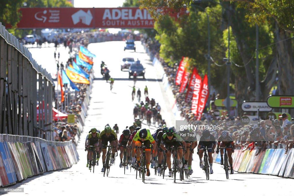 4th Santos Women's Tour 2018 / Stage 4 Arrival / Sprint / Chloe HOSKING (AUS)/ Giorgia BRONZINI (ITA)/ Annette EDMONDSON (AUS)/ Wakefield Road - Wakefield Road (46km) / Women / TDU /