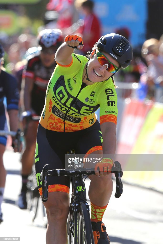 4th Santos Women's Tour 2018 / Stage 4 Arrival / Sprint / Chloe HOSKING (AUS) Celebration / Wakefield Road - Wakefield Road (46km) / Women / TDU /