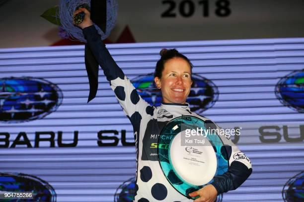 4th Santos Women's Tour 2018 / Stage 4 Podium / Amanda SPRATT Polka Dot Mountain Jersey / Celebration / Trophy / Wakefield Road Wakefield Road /...