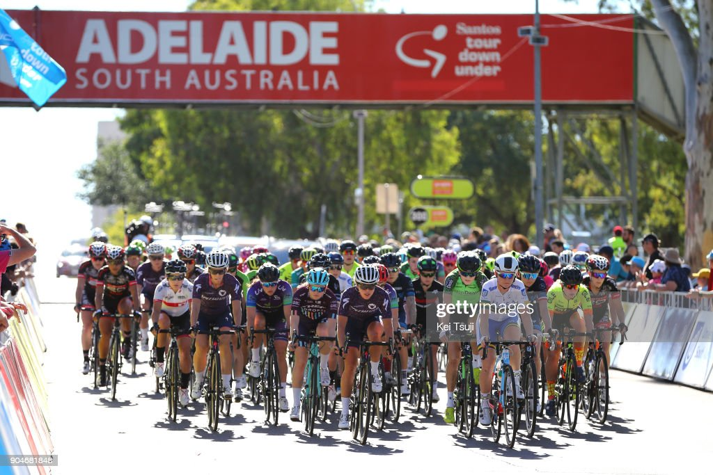 4th Santos Women's Tour 2018 / Stage 4 Start / Peloton / Wakefield Road - Wakefield Road (46km) / Women / TDU /