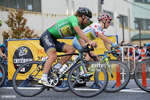 4th Tour de France Saitama Criterium 2016 Peter SAGAN Green Sprint Jersey / Rafal MAJKA Polka Dot Mountain Jersey/ Saitama - Saitama / / TDF Saitama...