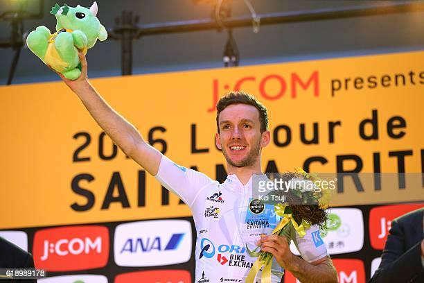 4th Tour de France Saitama Criterium 2016 Podium / Adam YATES White Best Young Rider / Celebration / Saitama - Saitama / / TDF Saitama Criterium /...