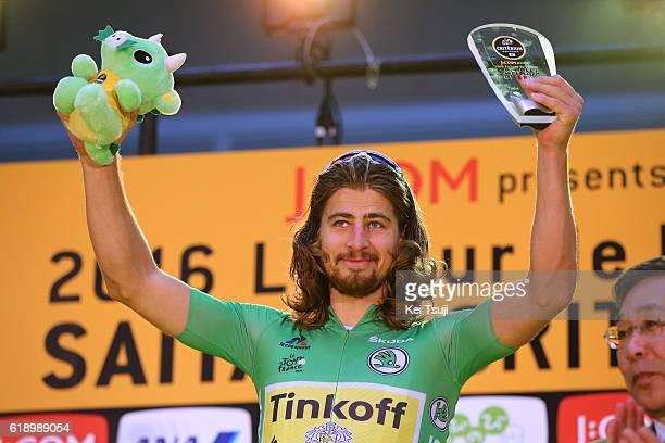 4th Tour de France Saitama Criterium 2016 Podium / Peter SAGAN Green Sprint Jersey / Celebration / Saitama - Saitama / / TDF Saitama Criterium / ©Tim...