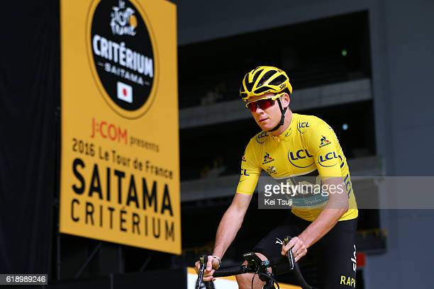 4th Tour de France Saitama Criterium 2016 Start / Christopher FROOME Yellow Leader Jersey / Saitama - Saitama / / TDF Saitama Criterium / ©Tim De...