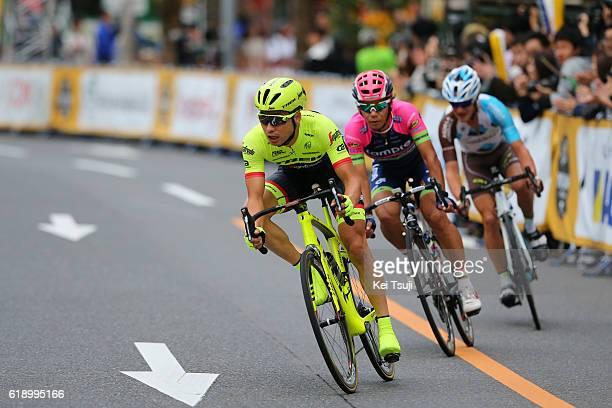 4th Tour de France Saitama Criterium 2016 Yukiya ARASHIRO / Alexis VUILLERMOZ / Fumiyuki BEPPU / Saitama Saitama / Saitama Criterium / ©Tim De...