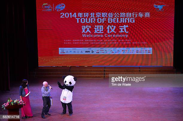 4th Tour of Beijing 2014 / Team Presentation Illustration Illustratie / PANDA Bear Mascotte / Presentation Equipes Ploegenvoorstelling / Ronde...