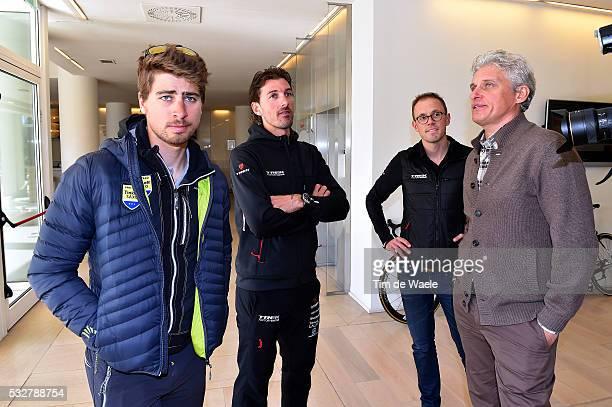 50th Tirreno Adriatico 2015 / Press Conference Peter SAGAN / Fabian CANCELLARA / Oleg TINKOFF / Persconferentie PC Tim De Waele