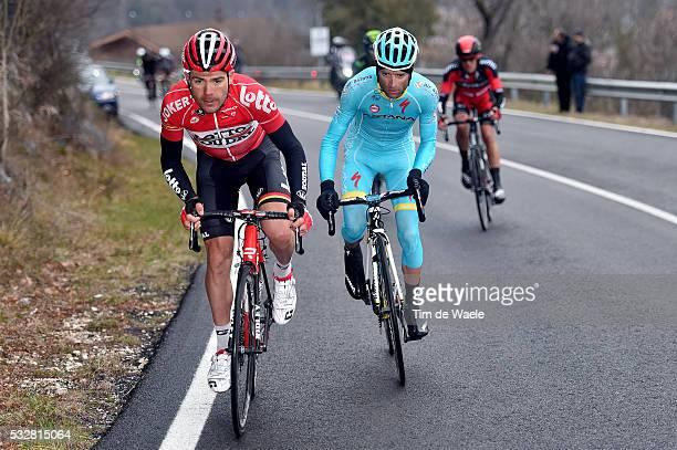 50th Tirreno - Adriatico 2015 / Stage 5 MONFORT Maxime / SCARPONI Michele / DE MARCHI Alessandro / Esanatoglia - Terminillo 1675m / Stage Rit / Tim...