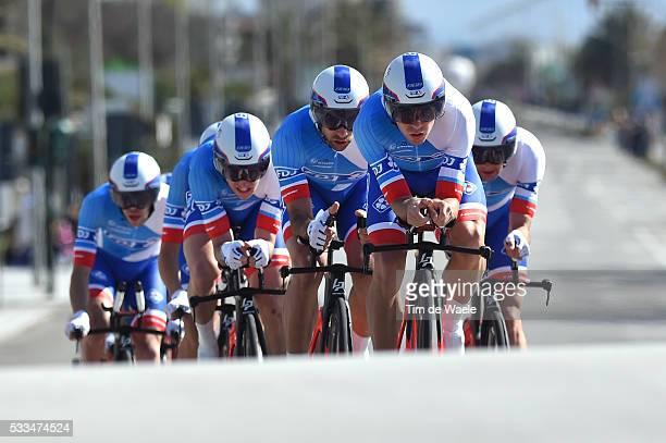 51th Tirreno Adriatico 2015 / Stage 1 Team FDJ / PINOT Thibaut / BONNET William / GENIEZ Alexandre / LADAGNOUS Mathieu / LE BON Johan / MORABITO...