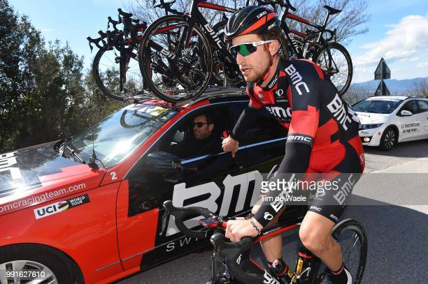 51Th Tirreno Adriatico 2016 Stage 3Phinney Taylor / Car Voiture Auto Bmc Racing Team /Sciandri Max Sportdirector Castelnuovo Val Di Cecina Montalto...