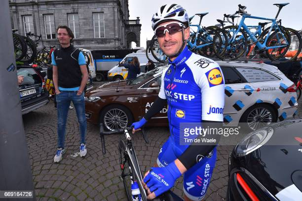52nd Amstel Gold Race 2017 / Men Dries DEVENYNS / Johan VAN SUMMEREN / Maastricht Valkenburg / Men /