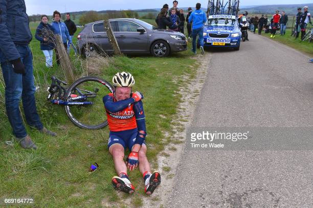 52nd Amstel Gold Race 2017 / Men Enrico GASPAROTTO / Injury / Crash / Maastricht Valkenburg / Men /
