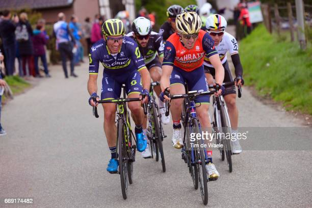 52nd Amstel Gold Race 2017 / Men Jon IZAGUIRRE INSAUSTI / Sergio Luis HENAO / Maastricht Valkenburg / Men / pool nv /
