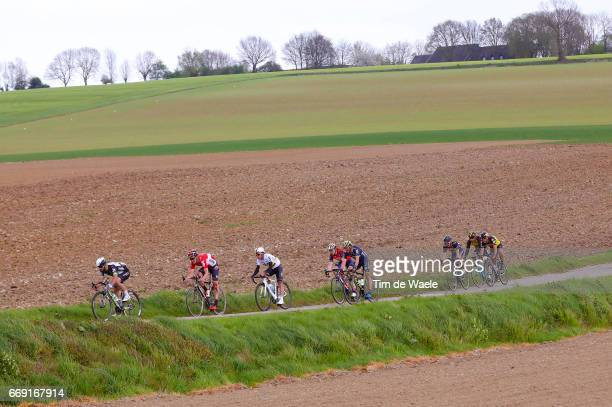52nd Amstel Gold Race 2017 / Men Landscape / Peloton / Maastricht Valkenburg / Men / pool bc /
