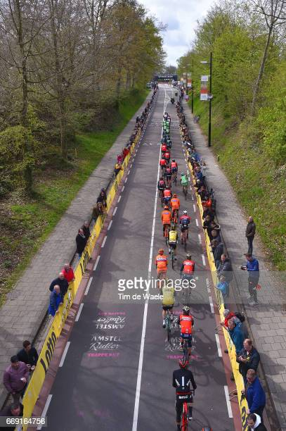 52nd Amstel Gold Race 2017 / Men Peloton / Cauberg / Landscape / Maastricht Valkenburg / Men /
