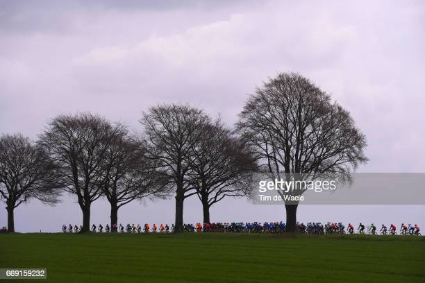 52nd Amstel Gold Race 2017 / Men Peloton / Silhouet / Landscape / Maastricht Valkenburg / Men /