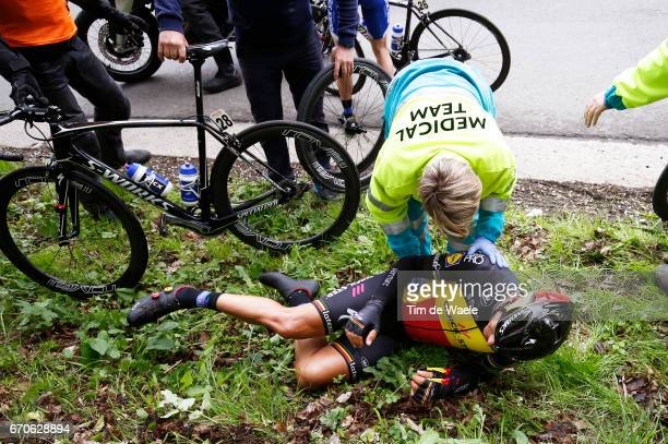 52nd Amstel Gold Race 2017 / Men Philippe GILBERT Crash / Doctor / Maastricht Valkenburg / Men /