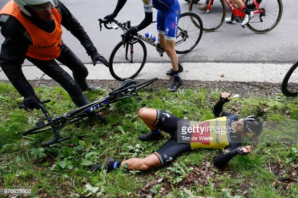 52nd Amstel Gold Race 2017 / Men Philippe GILBERT Crash / Maastricht Valkenburg / Men /