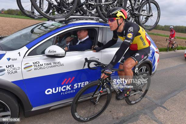 52nd Amstel Gold Race 2017 / Men Philippe GILBERT / Wilfried PEETERS Sportsdirector Team QuickStep Floors / Maastricht Valkenburg / Men /