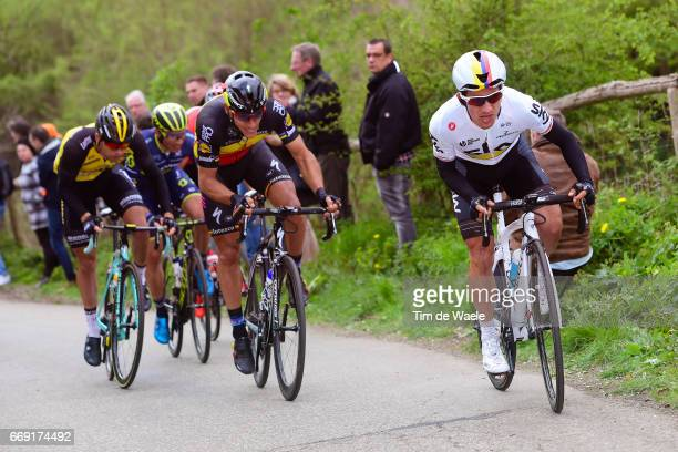 52nd Amstel Gold Race 2017 / Men Sergio Luis HENAO / Philippe GILBERT / Bertjan LINDEMAN / Maastricht Valkenburg / Men / pool nv /