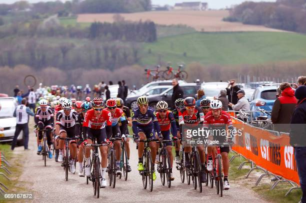 52nd Amstel Gold Race 2017 / Men Tim WELLENS / Roman KREUZIGER / Enrico GASPAROTTO / Greg VAN AVERMAET / Bob JUNGELS / Maastricht Valkenburg / Men /...