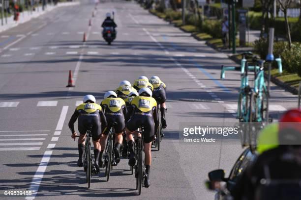 52nd TirrenoAdriatico 2017 / Stage 1 Team Lotto NL Jumbo / Jurgen VAN DEN BROECK / Enrico BATTAGLIN / Lars BOOM / Robert GESINK / Juan Jose LOBATO /...