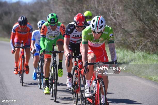 52nd Tirreno-Adriatico 2017 / Stage 4 Davide BALLERINI Green Mountain Jersey/ Marko KUMP / Montalto di Castro - Terminillo 1675m /
