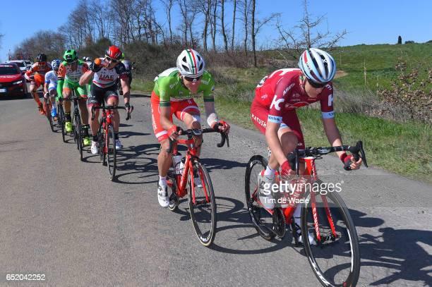 52nd Tirreno-Adriatico 2017 / Stage 4 Matvey MAMYKIN / Davide BALLERINI Green Mountain Jersey/ Marko KUMP / Montalto di Castro - Terminillo 1675m /