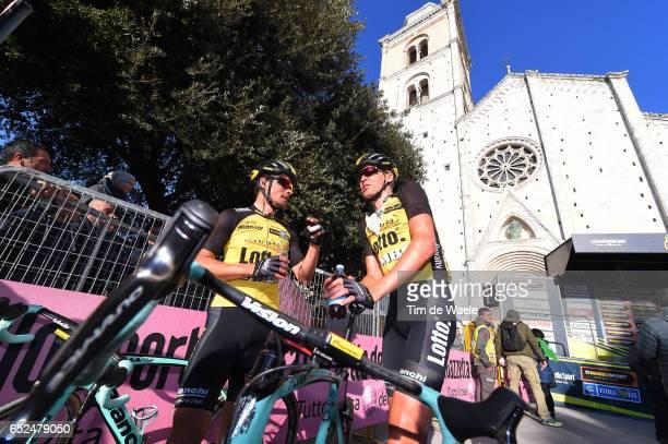 52nd TirrenoAdriatico 2017 / Stage 5 Arrival / Robert GESINK / Rieti Fermo /