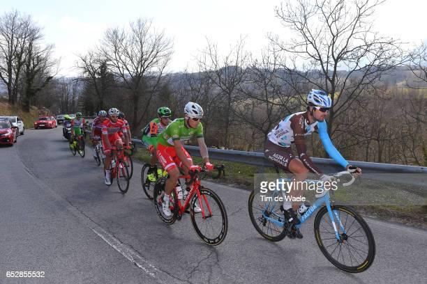 52nd TirrenoAdriatico 2017 / Stage 6 Ben GASTAUER / Davide BALLERINI Green Mountain Jersey/ Ascoli Piceno Civitanova Marche /